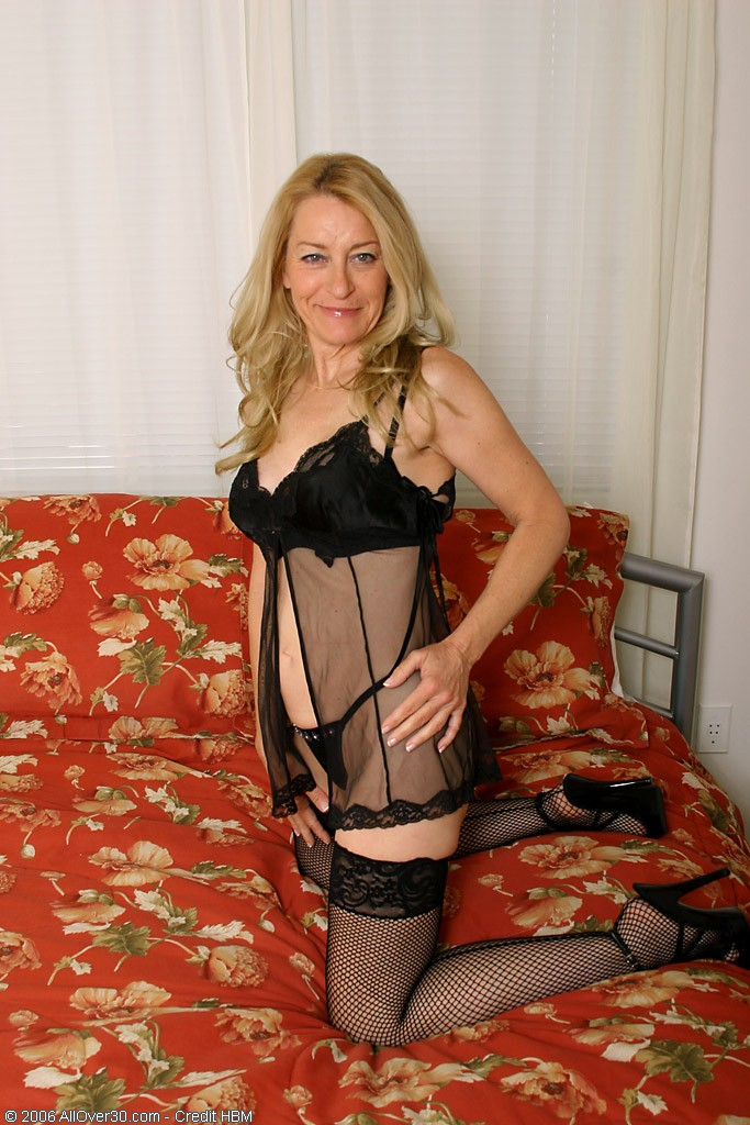 50 Year Old  Mom Looking  Steamy in and out of Her Knickers             Pear Gag