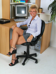 Office  Mom Cricket from  Milfs30 Exposes Hot Tan Lines and  Snatch