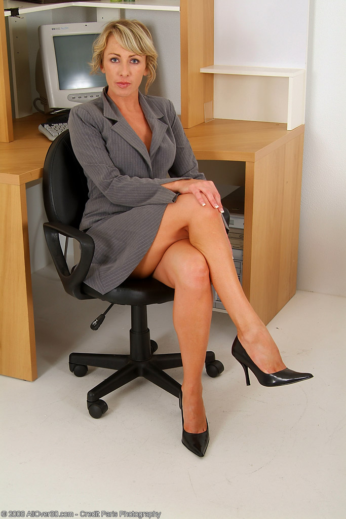 Milfs in office suits