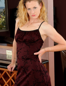 At 34 Years Old This  Older  Blond Haired Still Has a Stunning Taught Bod