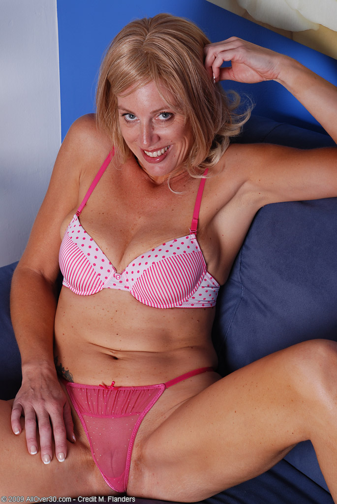 Liz Glides off Her Knickers and Glides Onto a Impaler in This Photo Gallery