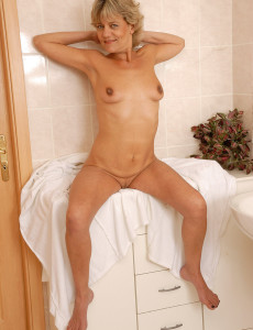 Sherry is a skinny mature babe who loves sticky facials 10