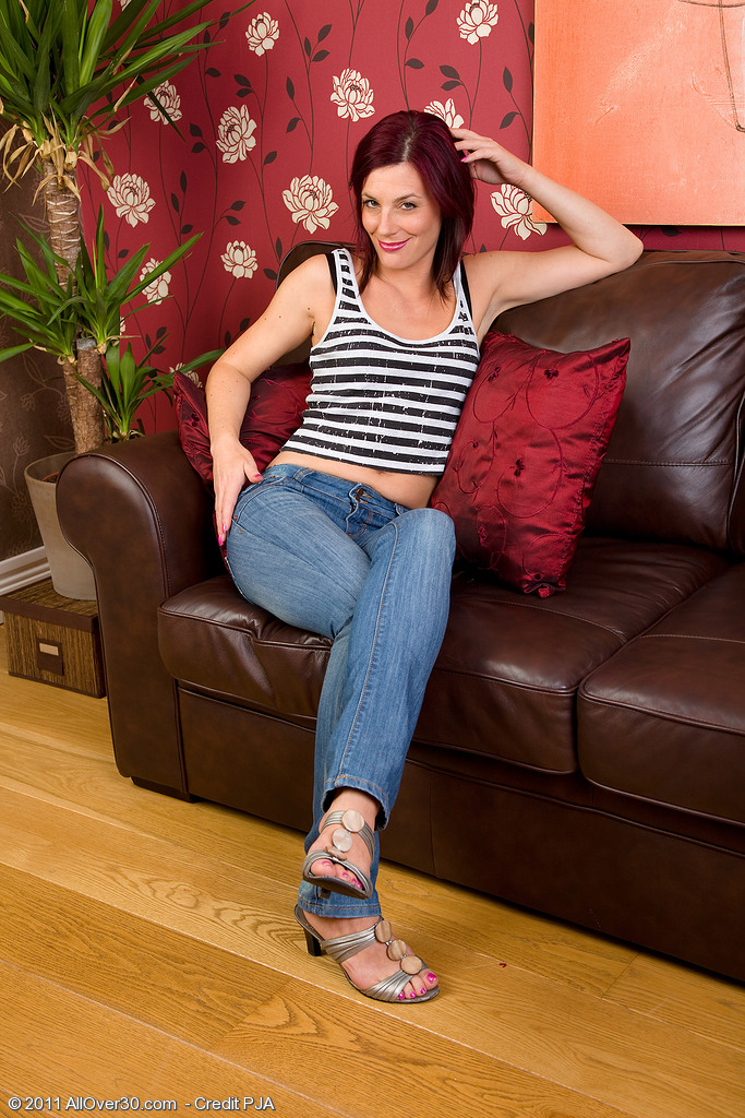 Skinny  Cougar Sofia from All over 30 Shows off Her 38 Year Old Body