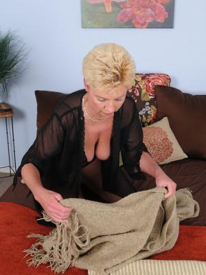 47 Year Old Taylor Lynn from  Milfs30 Deep Throating About Her Ebony  Undies