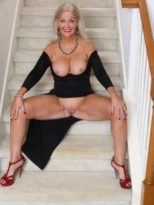 53 yr old mom tight white panties 3