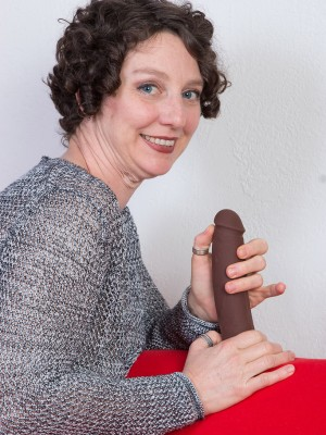 42 yr old Artemesia from  Milfs30 Finding enjoyment in a Big Brown Toy