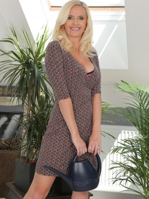 Sexy  Blond  Wife Lilly Patterson Showcasing the Woman Epic Tits