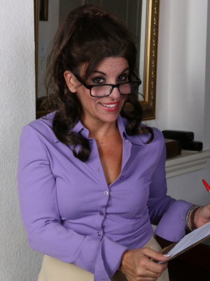 Wild Secretary Nicole Newby  Undresses