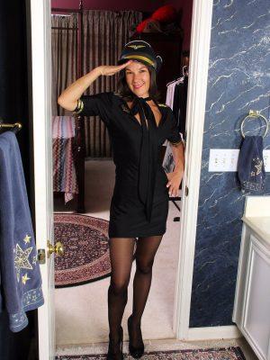 Sexy Captain Mindy Johansen