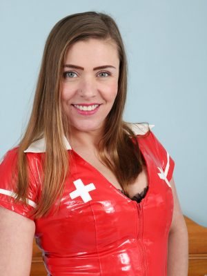 Crazy Latex Nurse Karen