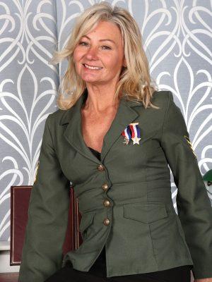 Military Stunner Ellen B