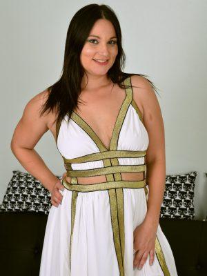Roxy Reed Flowing White Dress
