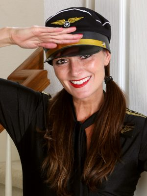 Lovely Captain Veronica Johnson